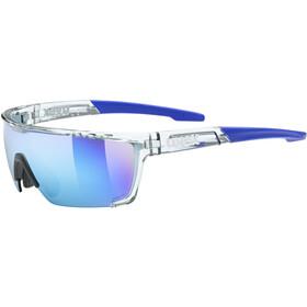 UVEX Sportstyle 707 Occhiali, clear/mirror blue